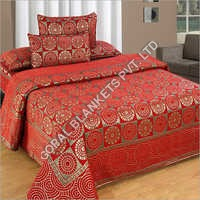 Chenille Designer Double Bed Sheet