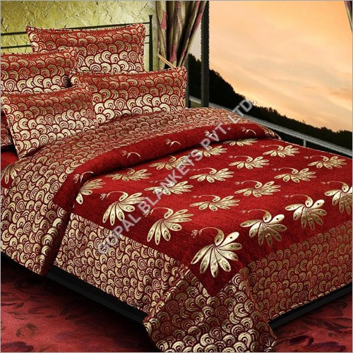 Chenille Velvet Bed Sheet