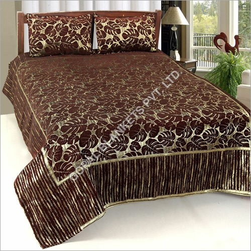 Printed Chenille Bed Sheets