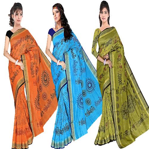Fancy Bandhani Print Saree
