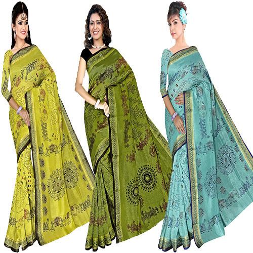Bandhani Print Saree