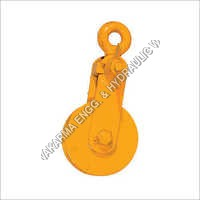 Single Sheave Pulley Double Fly Nut