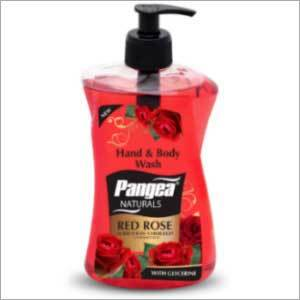 Hand & Body Wash Red Rose