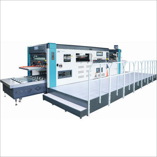 Automatic Die Cutting Machine With Feeder Attachment