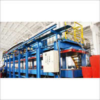 Discontinuous Polyurethane Pu Cold Room Insulation Panel Production Line