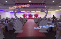 Swan Wedding Mandap