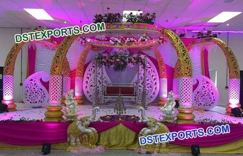 Wedding Elephant Trunk Mandap