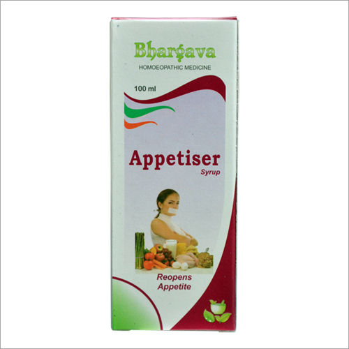 Homeopathic Reopens Appetite Syrup