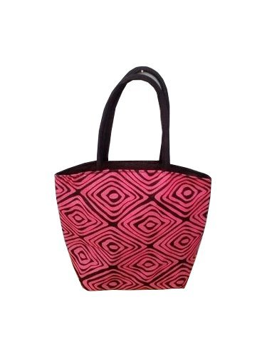 Multicolor Jute Bag