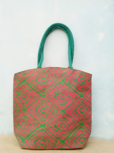 Gift Shopper Jute Bag