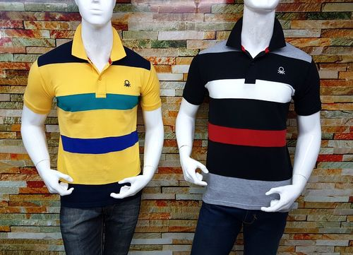 Colored Polo T Shirts