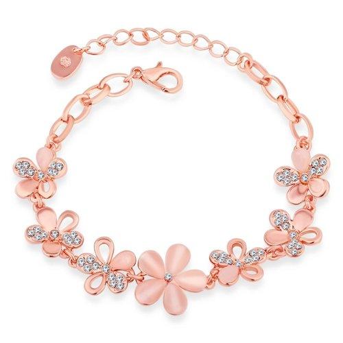 Rose Gold Plated Bracelet For Women