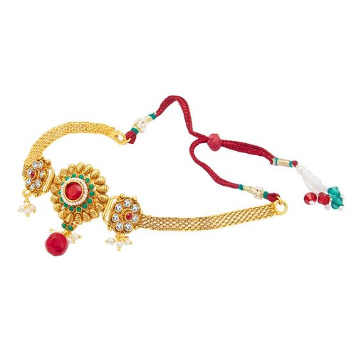 Gold Plated Bajuband For Women Free Size