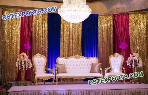 Stylish Wedding Sofa Set