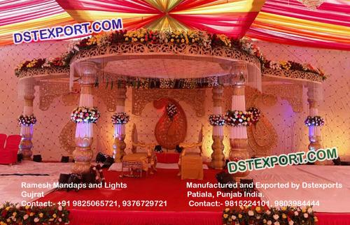 Indian Gujrati Wedding Mandap