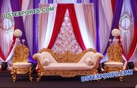 Asian Pakistani Walima Furniture Set