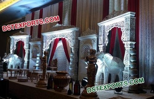 Indian Wedding Stage Set