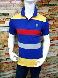 polo neck t shirt