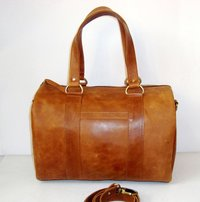 Designer Leather Travel Bag
