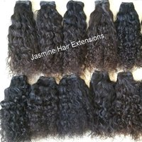 Wholesale price top quality virgin human hair ,Curly Human Hair