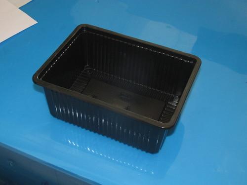 RECTANGLE LUNCH BOX 1500 ml(BLACK)