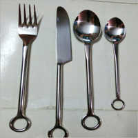 Cutlery Finger Ring Shape Set Of 4