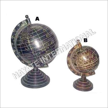 Coloured Aluminium Globe