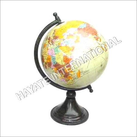Coloured Iron Globe