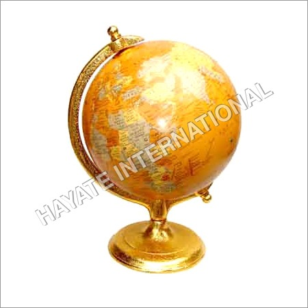 Gold Aluminium Globe