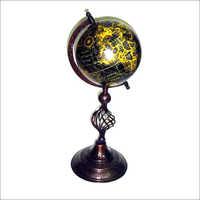 Antique Copper & Iron World Globe