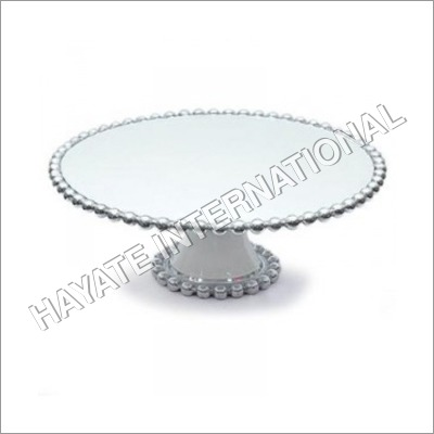 Metal Cake Plate Stand