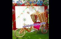 Punjabi Marriage Dulhan Entry Idea Rickshaw