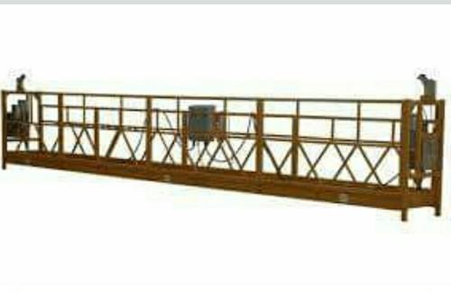Hanging wire rope platform cradle