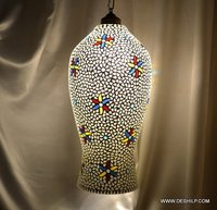 HANGING,MOSAIC GLASS HANGING,DECORATIVE RESIDENTIAL HANGING
