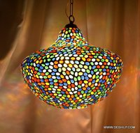 HANGING,MOSAIC GLASS HANGING,DECORATIVE RESIDENTIAL HANGING,GLASS HANGING