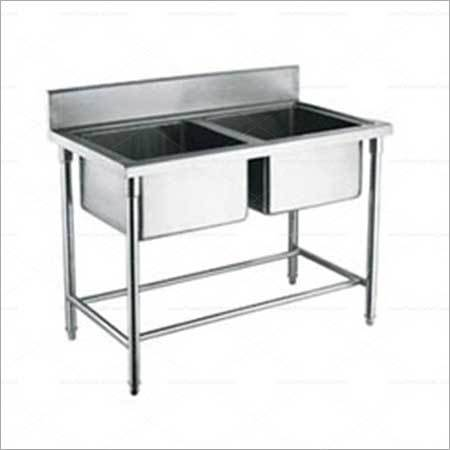 Mobile Table Stainless Steel Sink