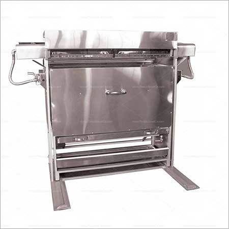 Manual Radiative Barbecue Oven