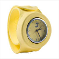 Yellow Wrist Watch