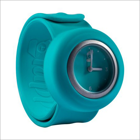 Green Sports Wrist Watch