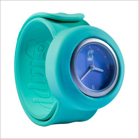 Wrist Watch Green Lilac Contrast