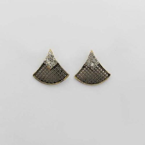 Triangle Shape Design Alloy Stud Earring