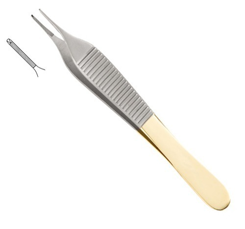 Adson TC Tissue Forceps