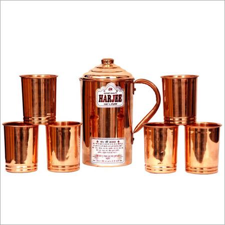 Harjee Copper Set