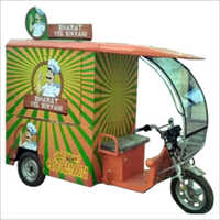 E-Rickshaw Food Cart