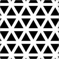 Triangle Hole Perforated Sheet