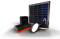 Solar Lamp and Phone Charger