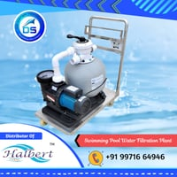 Swimming Pool Water Filtration Plant