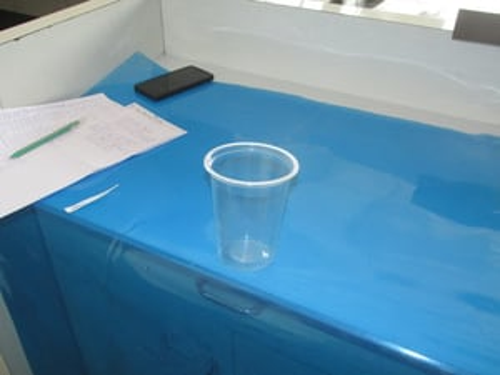 300 ml DISPOSABLE WATER GLASS (PLAIN)