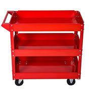 Three layer tool trolley