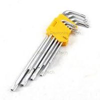 Torx allen key long 9 pieces